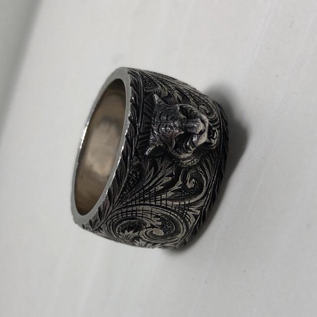 Gucci(グッチ)のGucci キャットリング 20号 メンズのアクセサリー(リング(指輪))の商品写真