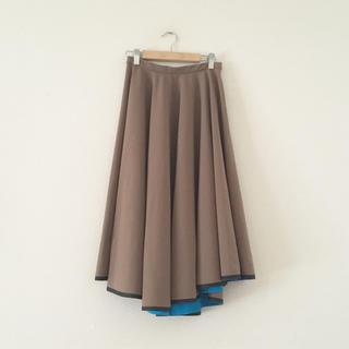 ダブルスタンダードクロージング(DOUBLE STANDARD CLOTHING)のSovソブ♪フレアスカート 小さめサイズ(ひざ丈スカート)