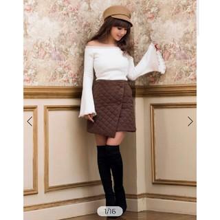 eimy istoire - 定価以下 レア 新品 エイミー eimy キルティングスカート ミニスカート