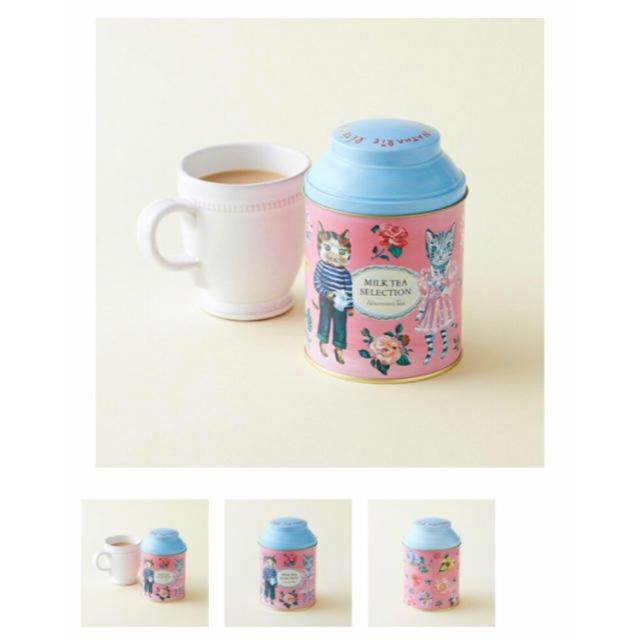 AfternoonTea(アフタヌーンティー)の完売品 限定 ナタリーレテ×Afternoon Tea/ミルクティーセレクション 食品/飲料/酒の飲料(茶)の商品写真