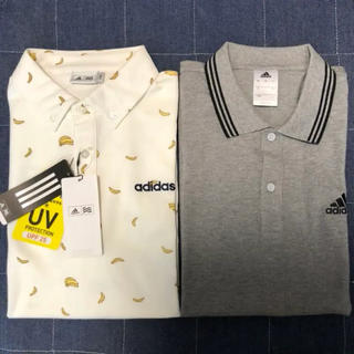 adidas -  半袖 ポロシャツ アディダス 2枚 新品未使用 ゴルフウエア