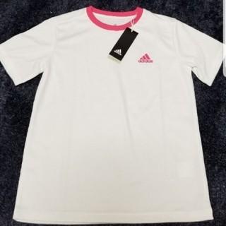 adidas - adidasアディダス 150cm ロゴ入り半袖Tシャツ 定価2149円