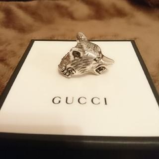 グッチ(Gucci)のGUCCI  ウルフヘッド シルバーリング(リング(指輪))