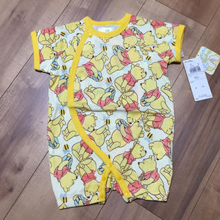 Disney - 新品 未使用 プーさん カバーオール  ロンパース ベビー服