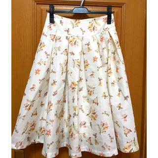 ダズリン(dazzlin)のダズリン 花柄ミディスカート(ひざ丈スカート)