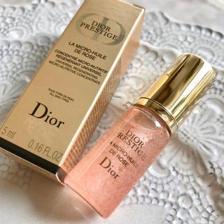 ディオール(Dior)の【4,680円分】ディオール プレステージ ユイルドローズ ✦ベストコスメ受賞✦(美容液)