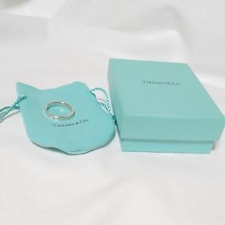 Tiffany & Co. - TIFFANY  &  Co.  1837 ナローリング  925 希少 #25