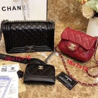 CHANEL - ハンドバッグ、ショルダーバッグ特別価格の3点セット