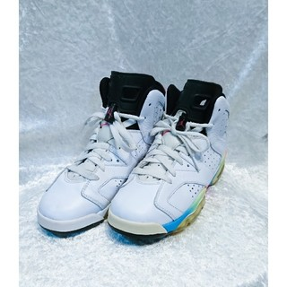 ナイキ(NIKE)のNIKE AIR JORDAN 6 RETRO GS 24.0cm(スニーカー)