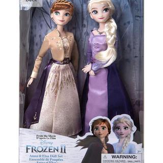 アナトユキノジョオウ(アナと雪の女王)のDisney Frozen 2 Elsa and Anna Classic(キャラクターグッズ)