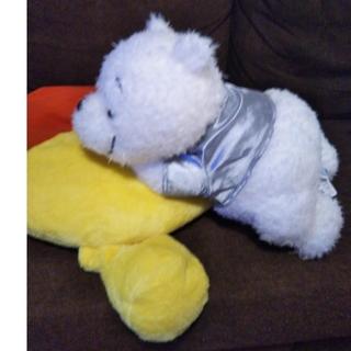 くまのプーさん - 新品タグ付き!くまのプーさん♡メガジャンボ ホワイト寝そべりぬいぐるみ