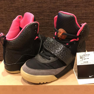 NIKE - NIKE AIR YEEZY 1 BLACK×PINK