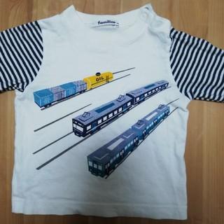 familiar - ファミリア ロングTシャツ 90cm
