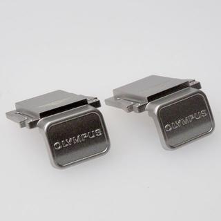 OLYMPUS - 2個 オリンパス 純正 ホットシューカバー 銀 マイクロフォーサーズ PEN 用