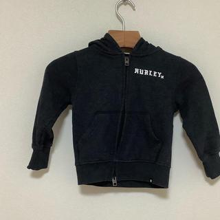 ハーレー(Hurley)の(未着用・美品)(キッズ100サイズ)ハーレーHURLEY ダブルジップパーカー(ジャケット/上着)