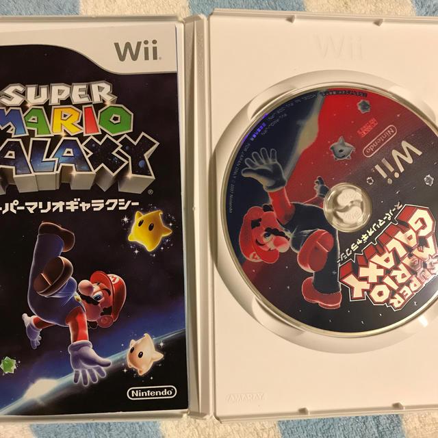 Wii(ウィー)のスーパーマリオギャラクシー エンタメ/ホビーのゲームソフト/ゲーム機本体(家庭用ゲームソフト)の商品写真