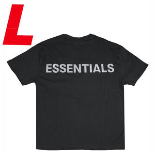 FEAR OF GOD - L【最安値】ESSENTIALS 3M LOGO BOXY T-SHIRTS