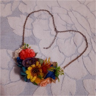 ビームス(BEAMS)の🌻お花のネックレス花🌼(ネックレス)