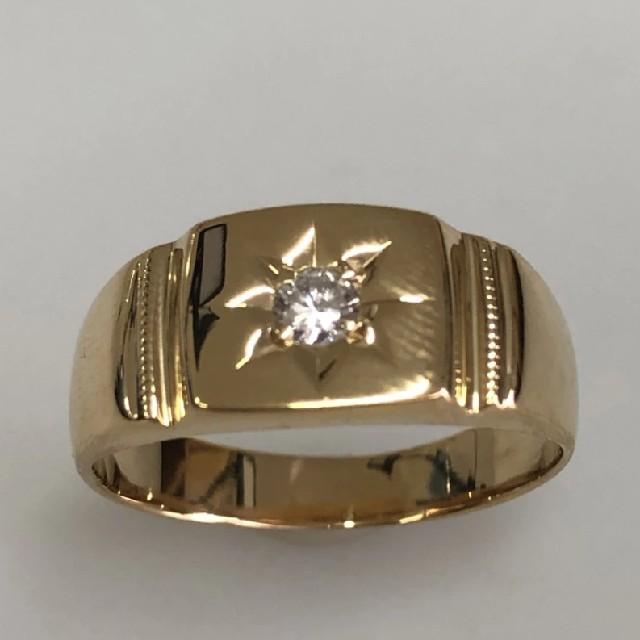 Cartier(カルティエ)の期間限定 K18 ダイヤモンド リング 14号 メンズのアクセサリー(リング(指輪))の商品写真