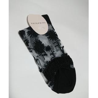 アンテプリマ(ANTEPRIMA)のアンテプリマ   靴下  ブラック(ソックス)