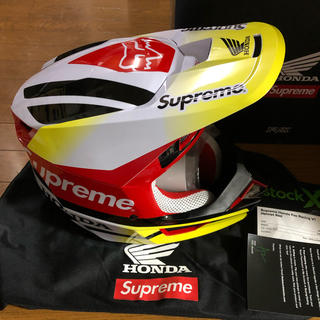 Supreme - Supreme HONDA Fox Racing V1 Helmet Red