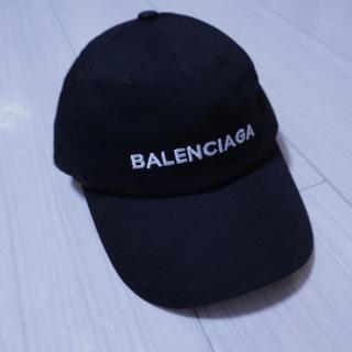 BALENCIAGA バレンシアガ  キャップ 帽子 黒 サイズフリー