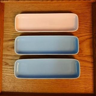 ムジルシリョウヒン(MUJI (無印良品))の無印良品 長方形皿 3枚(食器)