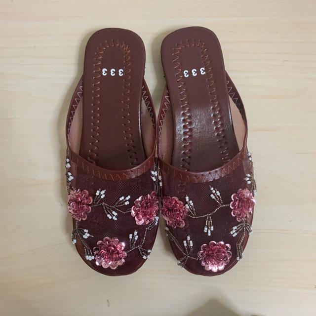 mystic(ミスティック)の333 サンダル ボルドー レディースの靴/シューズ(サンダル)の商品写真