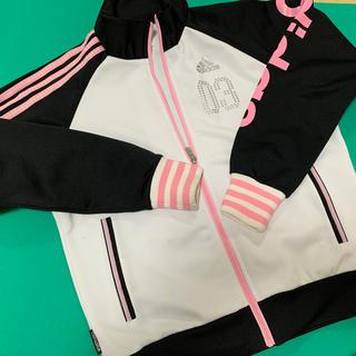 adidas - アディダス  ジャージ上 白 150
