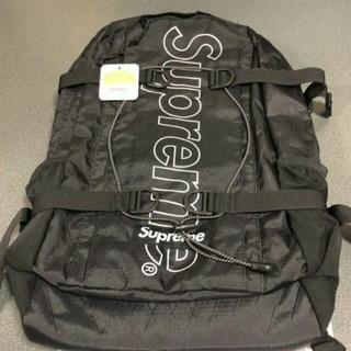 Supreme - Supreme backpack black 18FW 新品未使用 送料込み
