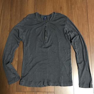 ギャップ(GAP)のGAP ヘンリーネック カットソー L 長袖 Tシャツ ロンT ギャップ メンズ(Tシャツ/カットソー(七分/長袖))