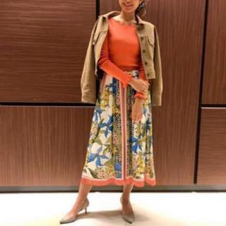 GRACE CONTINENTAL - グレースコンチネンタル  人気 スカーフ柄スカート