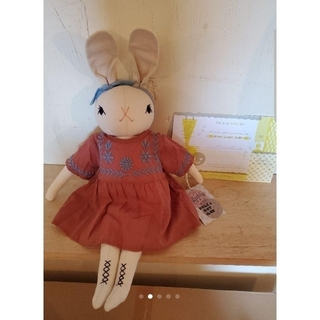 キャラメルベビー&チャイルド(Caramel baby&child )の専用 新作 PDC + Apolina Large Cream Rabbit (ぬいぐるみ/人形)