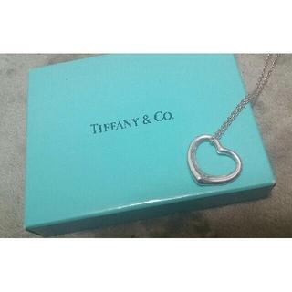 ティファニー(Tiffany & Co.)のティファニー オープンハートネックレス(ネックレス)