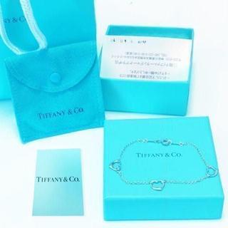 ティファニー(Tiffany & Co.)の☆新品☆未使用☆ティファニー トリプルオープンハートブレスレット(ブレスレット/バングル)