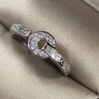 ブルガリ(BVLGARI)のBVLGARI BVLGARI ホワイトゴールドとダイヤ 指輪(リング(指輪))
