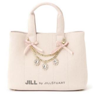 JILL by JILLSTUART - ジルバイ    ジルスチュアート ジュエルリボントートバッグ  ピンク