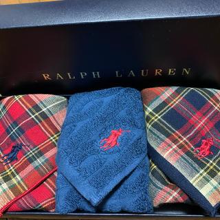 Ralph Lauren - 【新品】ラルフローレン  タオルハンカチセット