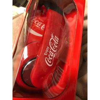 コカ・コーラ - * 新品未使用 Coca-Cola ヘッドホン レッド*