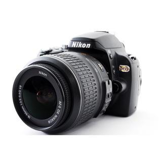 Nikon - ★軽量コンパクト♪WiFi SDカード付き★ニコン D60 レンズキット