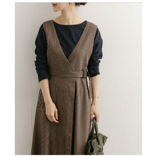 DOORS / URBAN RESEARCH - ウエストベルト付ジャンパースカート