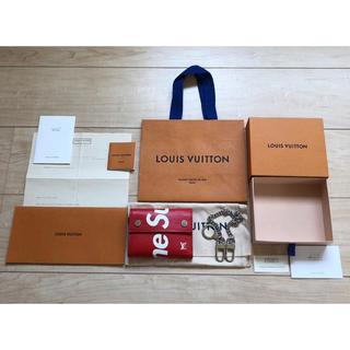 LOUIS VUITTON - 【限定SALE‼️ 】LV supreme チェーンウォレット 未使用品‼️