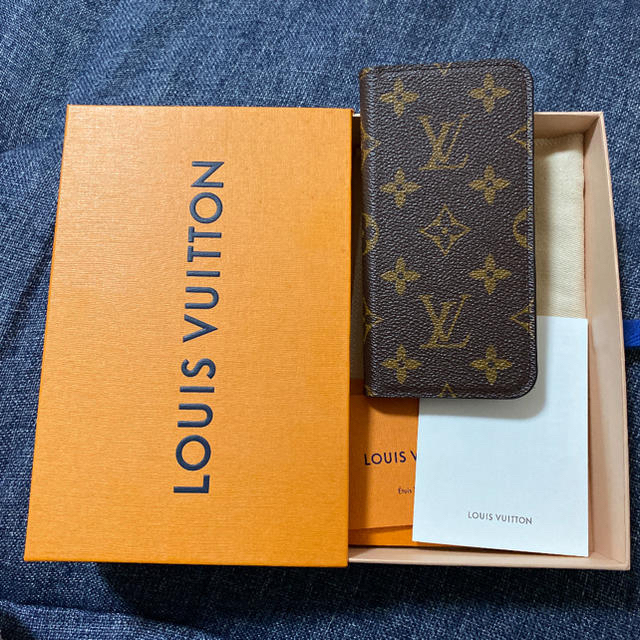 iphone8 ケース 手帳 型 左利き / LOUIS VUITTON - LOUIS VUITTON iPhone CASEの通販