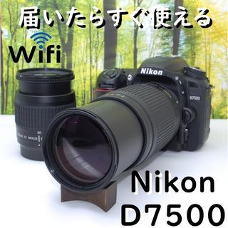 Nikon - 【バッグつき】2019年グランプリ受賞☆ニコン D7500☆