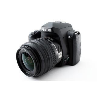 PENTAX - ★WiFi SDでスマホに写真転送★ペンタックス K-r ブラック レンズキット