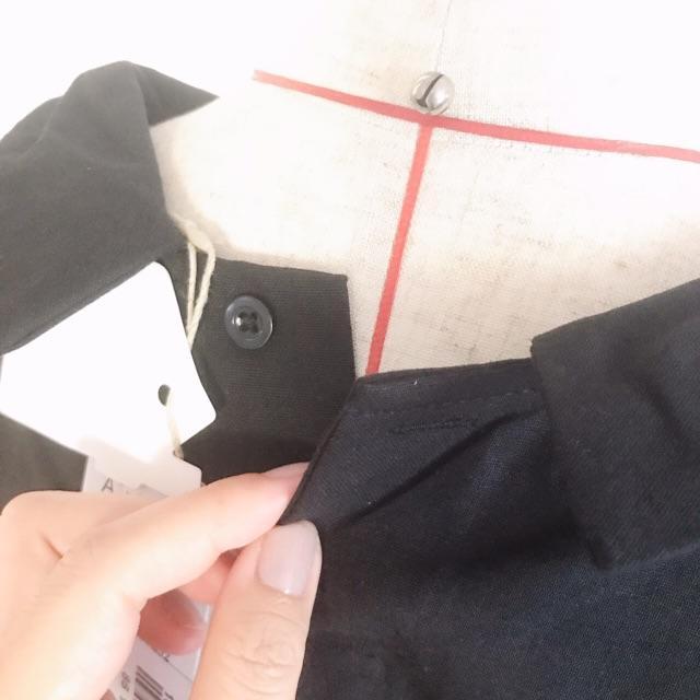 merlot(メルロー)の売れすぎセール⭐【Fillil/フィリル】★ゆったりトップス  ブラック レディースのトップス(シャツ/ブラウス(半袖/袖なし))の商品写真