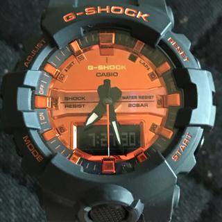 G-SHOCK - G-SHOCK GA-800BR ブライトオレンジカラー