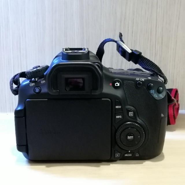 Canon(キヤノン)のCANON EOS 60D ダブルズームキット スマホ/家電/カメラのカメラ(デジタル一眼)の商品写真