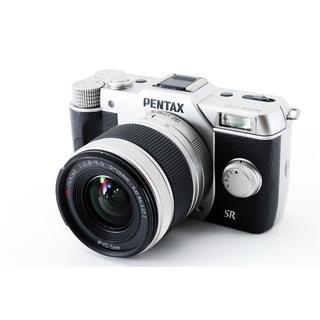 PENTAX - ★超軽量ミラーレス!WiFiカード付き★ペンタックス Q10 シルバー