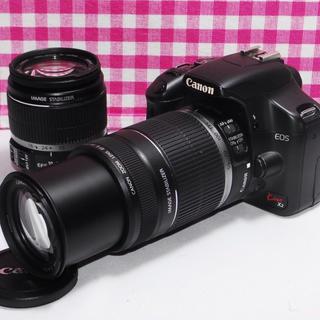 Canon - ❤初心者安心手ぶれ補正付き❤ Canon Kiss x2 大迫力のダブルズーム♪